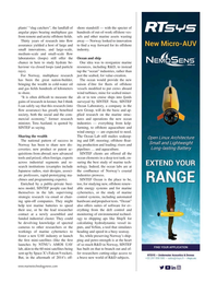 Marine Technology Magazine, page 33,  Oct 2019