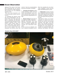Marine Technology Magazine, page 38,  Oct 2019
