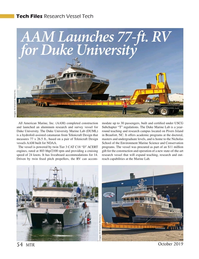 Marine Technology Magazine, page 54,  Oct 2019