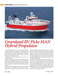 Marine Technology Magazine, page 56,  Oct 2019
