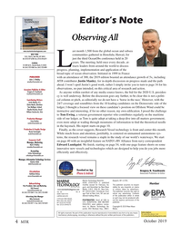 Marine Technology Magazine, page 4,  Oct 2019
