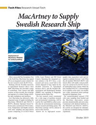 Marine Technology Magazine, page 60,  Oct 2019
