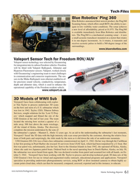 Marine Technology Magazine, page 61,  Oct 2019
