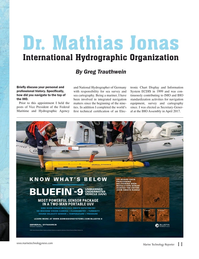 Marine Technology Magazine, page 11,  Nov 2019