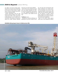 Marine Technology Magazine, page 22,  Nov 2019