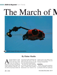 Marine Technology Magazine, page 26,  Nov 2019