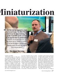 Marine Technology Magazine, page 27,  Nov 2019