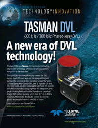 Marine Technology Magazine, page 1,  Nov 2019
