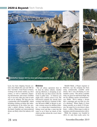 Marine Technology Magazine, page 28,  Nov 2019