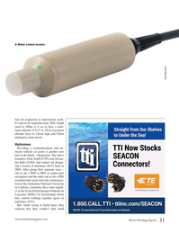 Marine Technology Magazine, page 31,  Nov 2019