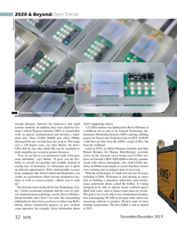 Marine Technology Magazine, page 32,  Nov 2019
