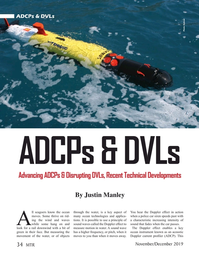 Marine Technology Magazine, page 34,  Nov 2019