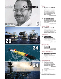 Marine Technology Magazine, page 2,  Nov 2019