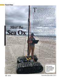 Marine Technology Magazine, page 48,  Nov 2019