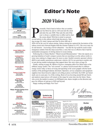 Marine Technology Magazine, page 4,  Nov 2019