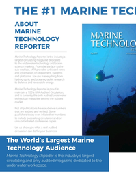 Marine Technology Magazine, page 58,  Nov 2019