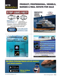 Marine Technology Magazine, page 63,  Nov 2019