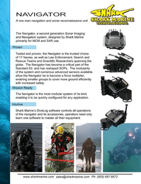 Marine Technology Magazine, page 4th Cover,  Nov 2019