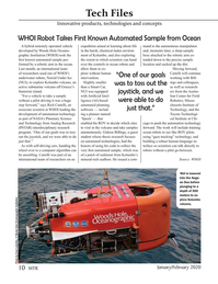 Marine Technology Magazine, page 10,  Jan 2020