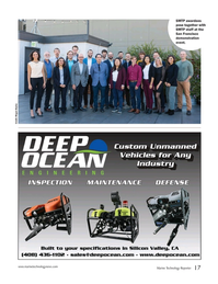 Marine Technology Magazine, page 17,  Jan 2020