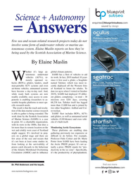 Marine Technology Magazine, page 21,  Jan 2020