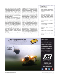 Marine Technology Magazine, page 25,  Jan 2020