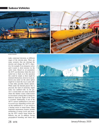 Marine Technology Magazine, page 28,  Jan 2020