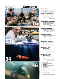 Marine Technology Magazine, page 2,  Jan 2020