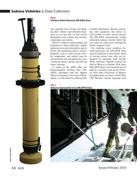 Marine Technology Magazine, page 44,  Jan 2020
