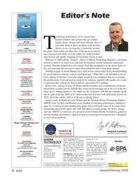 Marine Technology Magazine, page 4,  Jan 2020