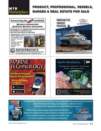 Marine Technology Magazine, page 63,  Jan 2020