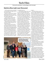 Marine Technology Magazine, page 10,  Mar 2020