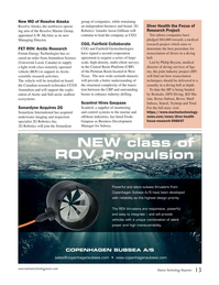 Marine Technology Magazine, page 13,  Mar 2020