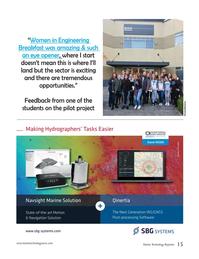 Marine Technology Magazine, page 15,  Mar 2020