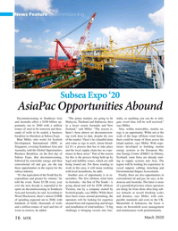 Marine Technology Magazine, page 16,  Mar 2020