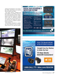 Marine Technology Magazine, page 37,  Mar 2020