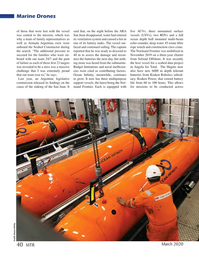 Marine Technology Magazine, page 40,  Mar 2020