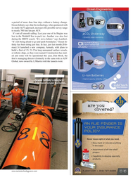 Marine Technology Magazine, page 41,  Mar 2020