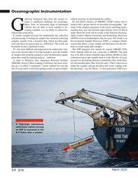 Marine Technology Magazine, page 44,  Mar 2020