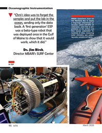 Marine Technology Magazine, page 46,  Mar 2020