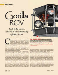 Marine Technology Magazine, page 50,  Mar 2020