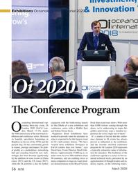 Marine Technology Magazine, page 56,  Mar 2020