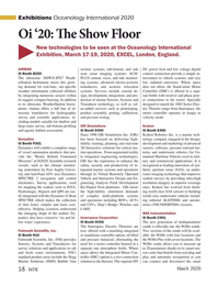 Marine Technology Magazine, page 58,  Mar 2020