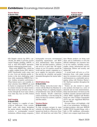 Marine Technology Magazine, page 62,  Mar 2020