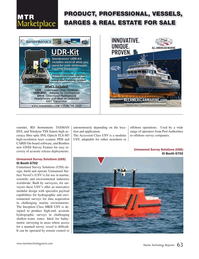 Marine Technology Magazine, page 63,  Mar 2020