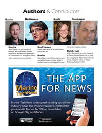 Marine Technology Magazine, page 6,  Mar 2020