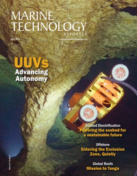 Marine Technology Magazine Cover Apr 2020 -
