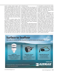 Marine Technology Magazine, page 13,  Apr 2020