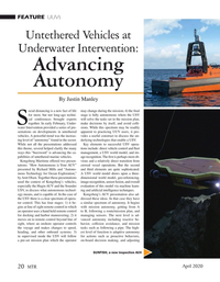 Marine Technology Magazine, page 20,  Apr 2020
