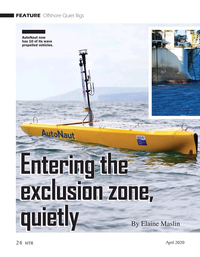 Marine Technology Magazine, page 24,  Apr 2020